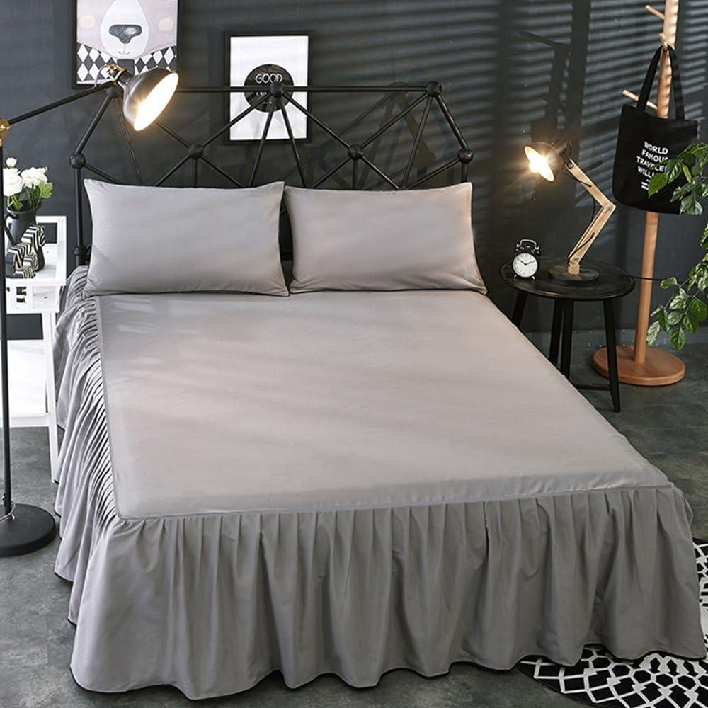 Seacan アンティーク風ベッドスカート
