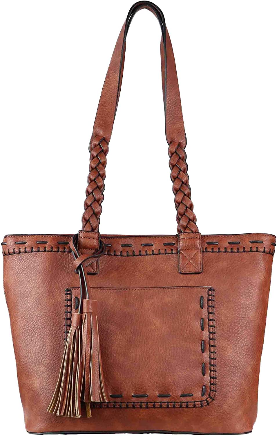 Medium Concealed Carry Tote Handmade With Symphony In Hue Napkins
