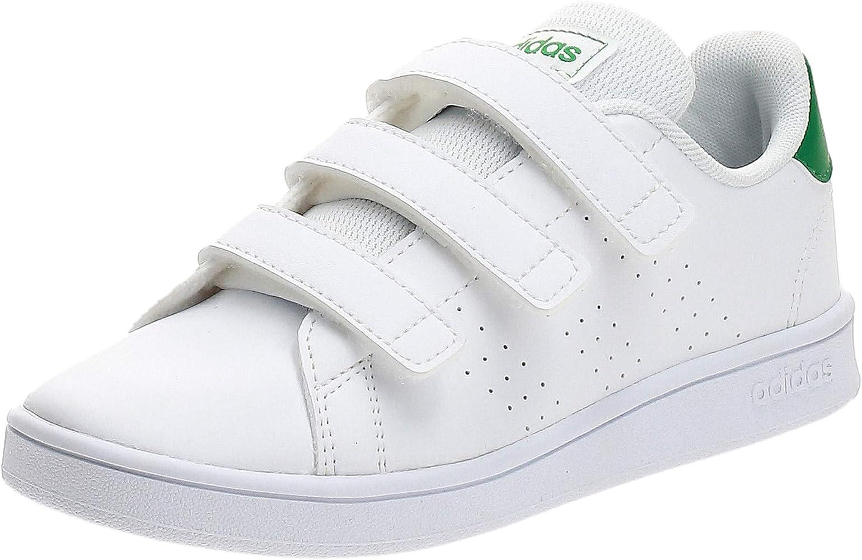 adidas Boys Shoes Running Fashion Kids Trainers School Advantage EF0223 New (32 EU - UK 13.5k - US 1)