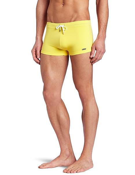 Amazon.com: 2(x)ist hombre Cabo traje de baño de punto: Clothing