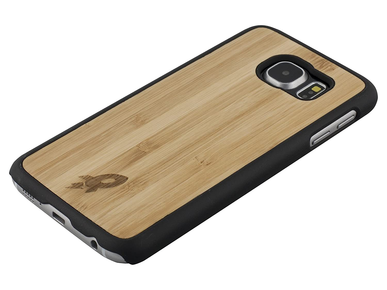 quality design 0ac97 0d17b Amazon.com: Galaxy S6 Wood Case by Rocketcases - Wooden Galaxy S6 ...
