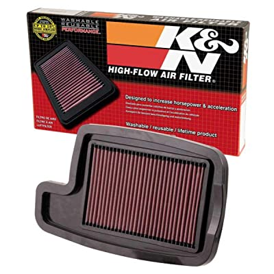 K&N AC-4004 Arctic Cat High Performance Replacement Air Filter: Automotive