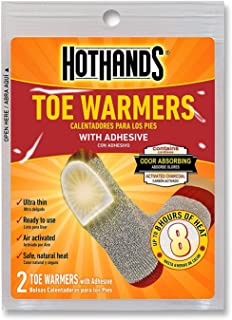 product image for HotHands Toe Warmers with Adhesive (Provides 8 Hours of Heat) 8 Pair Economy Pack