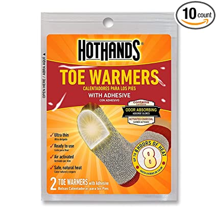 HotHands Toe Warmers 10 Pair