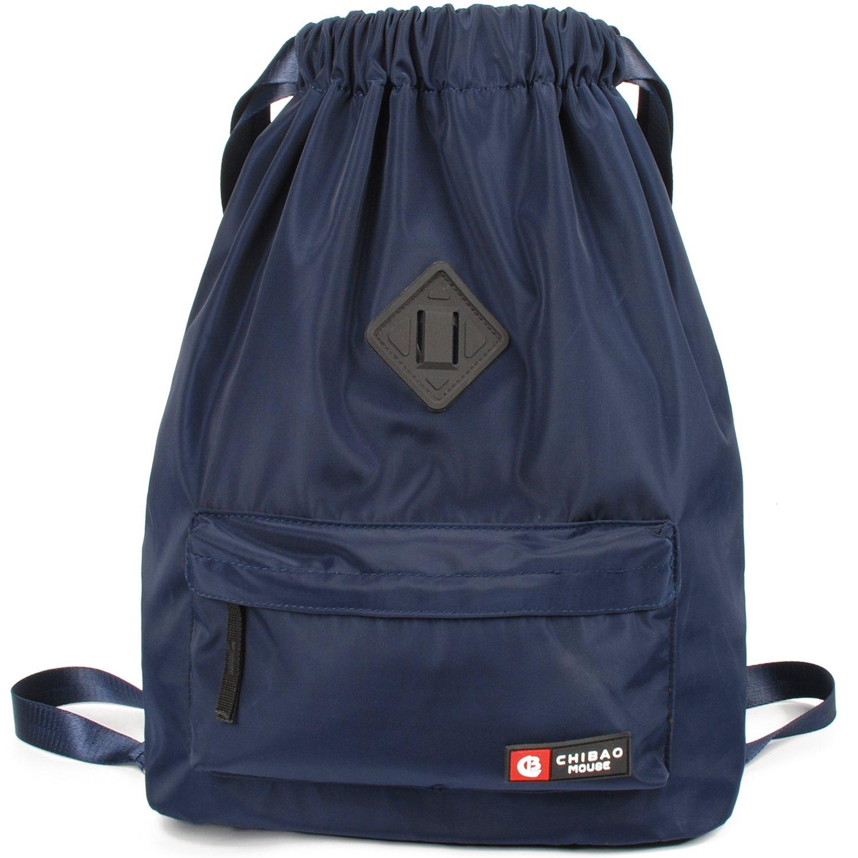 Ultralight Drawstring Backpack String Bag Cinch Sack for Women and Men School Sport Gym