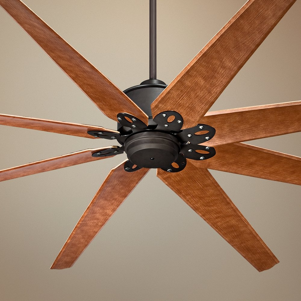 grey white blades hunter light fans kit pin with outdoor pine ceiling fan cottage