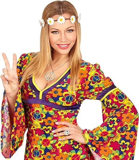 Cinta de Cabello Hippy | Banda de Pelo con Margaritas | Accesorio ...