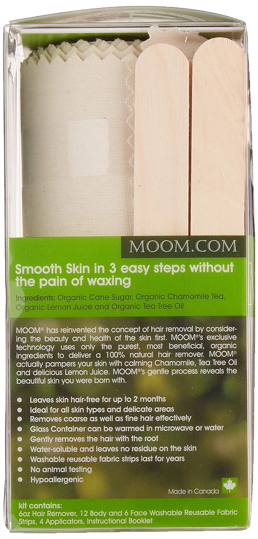 Organic Hair Remover, con aceite de árbol de té, clásico, 6 ...