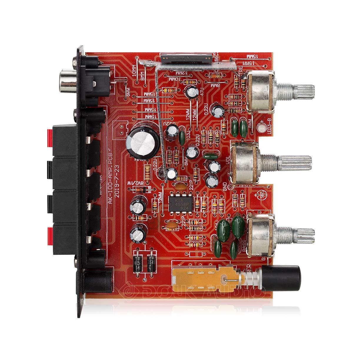 casa Amplificador de Potencia est/éreo para Motocicleta para Coche Audio Digital Mini Amplificador de 12 V Barco
