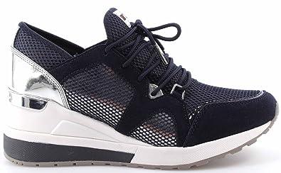 Glisser Sur Chaussures De Sport Pour Les Femmes En Vente, Noir, Tissu, 2017, 40 Michael Kors