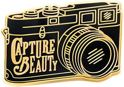Shoot with Purpose Asilda Store Lapel Enamel Pin with Deluxe Pin Lock