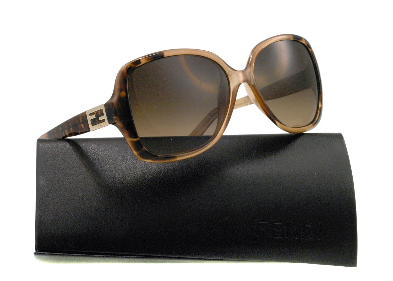 43c6a19c11 Amazon.com  Fendi Sunglasses FS 5227 LEOPARD BROWN 210 FS5227  Fendi   Clothing