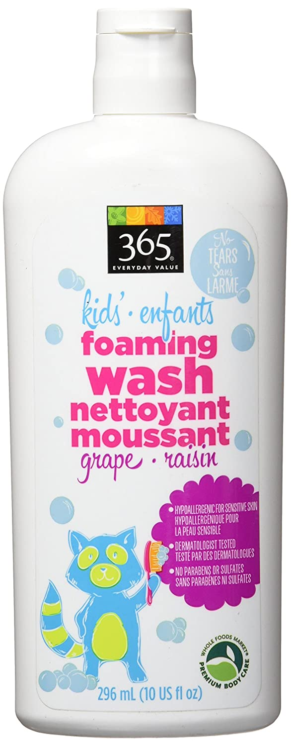 365 Everyday Value Kid's Foaming Wash - Grape, 10 oz Whole Foods Market