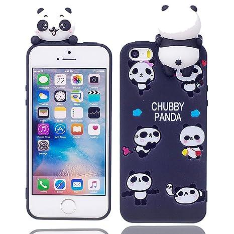 Amazon.com: iPhone 5S carcasa de goma, iPhone 5/se funda, 3d ...