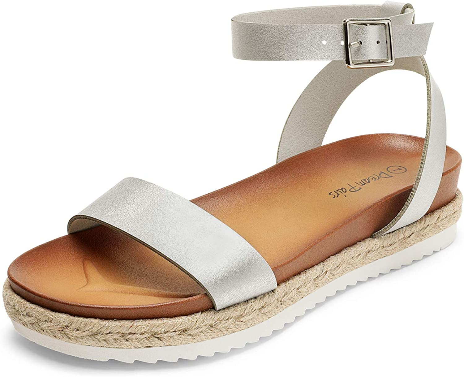 Sz 10M Details about  /Style /& Co Mulan Wedge Open Toe Casual Platform Sandals French Vanilla