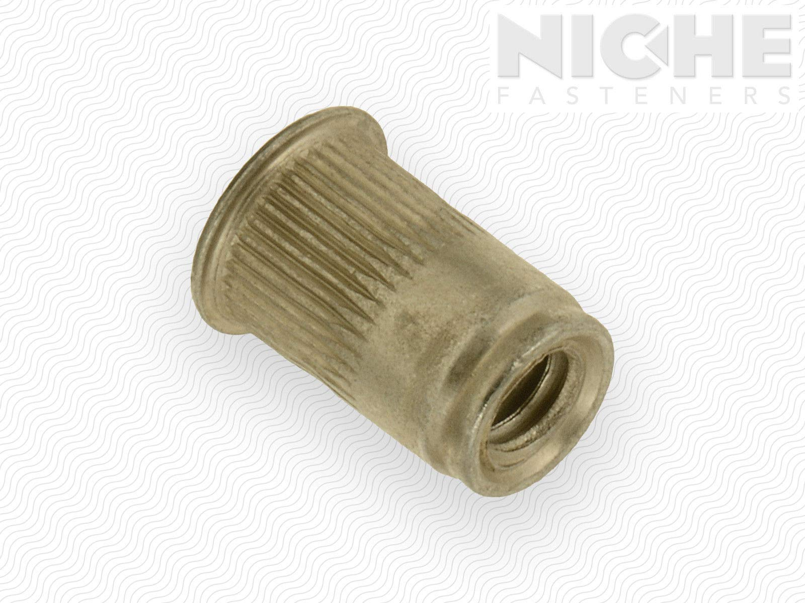 AVK Threaded Insert Knurled AK #8-32 x 80 ZY Triv Open End (225 Pieces)