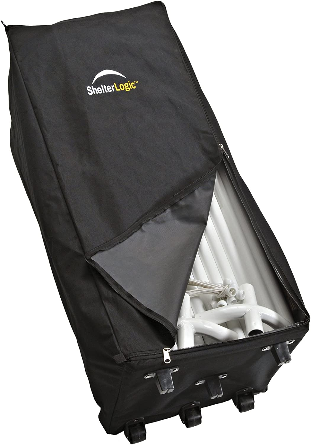 ShelterLogic Store-IT Canopy Rolling Storage Bag, Black