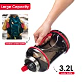 3.2L/108OZ Portable Gym Sports Water Bottle with