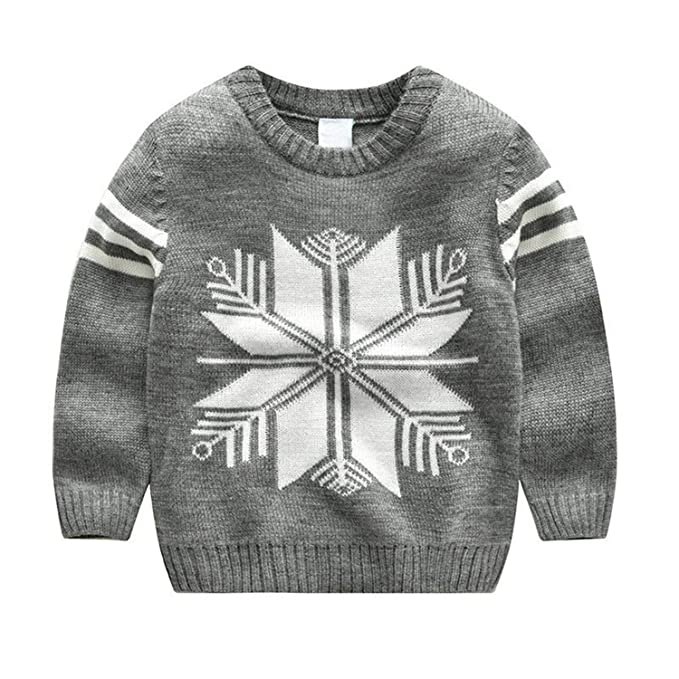 Amazon.com Girls Sweaters Boys Winter Tops Baby Boy Sweater