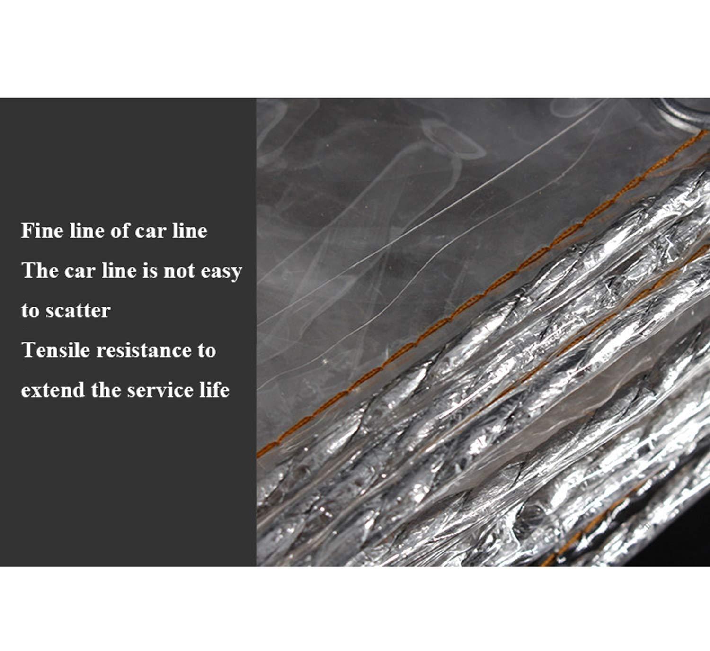 0.3Mm,0.8 1.5M QMMD Transparent B/âche B/âches Balcon Couverture Pluie Artefact Imperm/éable Transparent /Épais Poncho Tissu Plastique B/âche Jardin Ext/érieur Rideau Baffle Cr/ème Solaire