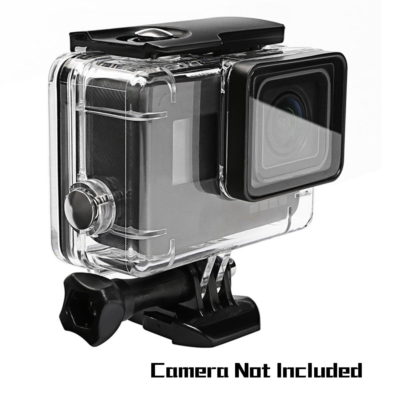 Oumers Wasserdichtes Gehäuse für GoPro Hero5 / GoPro Hero 6 Schwarz, Ersatz Wasserdichte Gehäusedeckel, Schutzhülle, 45M Tauchen Tauchen, Kamera-Zubehör Schutzhülle Kamera-Zubehör LYSB01MCQF2S9-ELECTRNCS