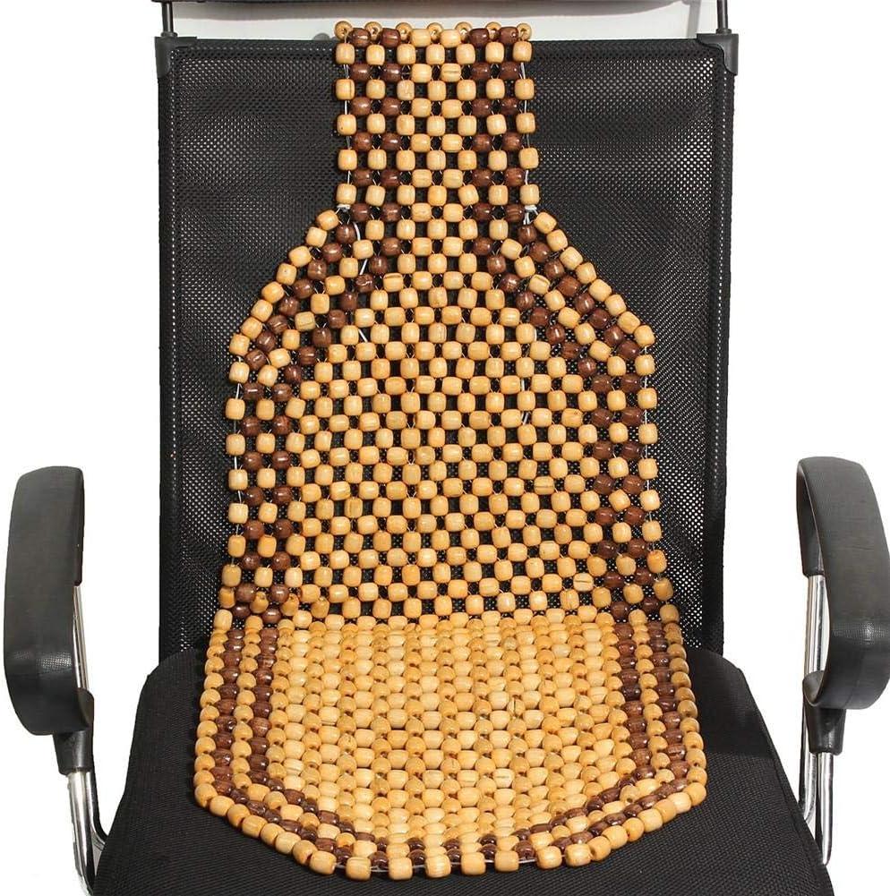Holzperlen Massage Hochwertiger Autositzschoner in universeller Passform rutschfest Ardentity Autositzauflage pflegeleicht und sicher 129 cm x 38,5 cm