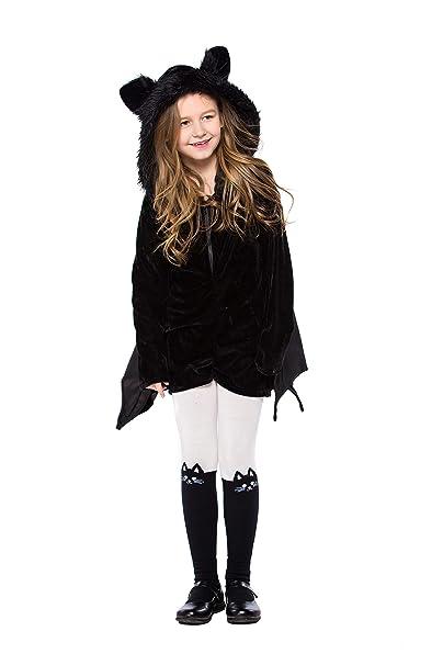 Amazon.com: YOLSUN Disfraz de bate de vampiro para niña ...
