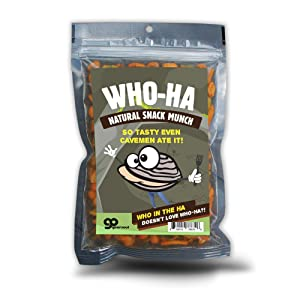 Who-Ha Natural Snack Munch - Funny Spicy Trail Mix for Men and Women, Gourmet Gifts, Made in the USA