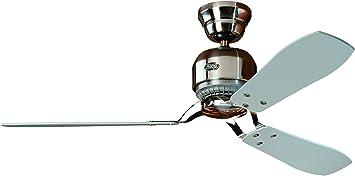 Hunter 24542 - Ventilador de techo, color plateado: Amazon.es ...