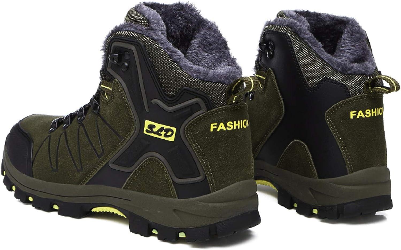 TQGOLD/® Scarpe da Trekking Uomo Donna,Impermeabile Scarpe da Escursionismo Arrampicata Stivali in Pelle