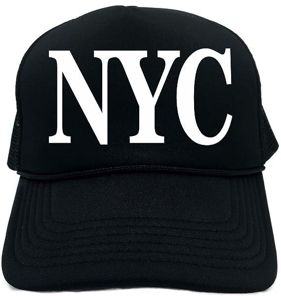 1db9a20e104a9 Amazon.com: Funny Trucker Hat (NYC (NEW YORK CITY, NY) Unisex Adult ...