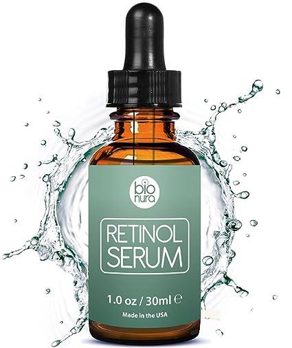bionura retinol Serum – 2,5% retinol contenido Sistema con 20% Vitamin C