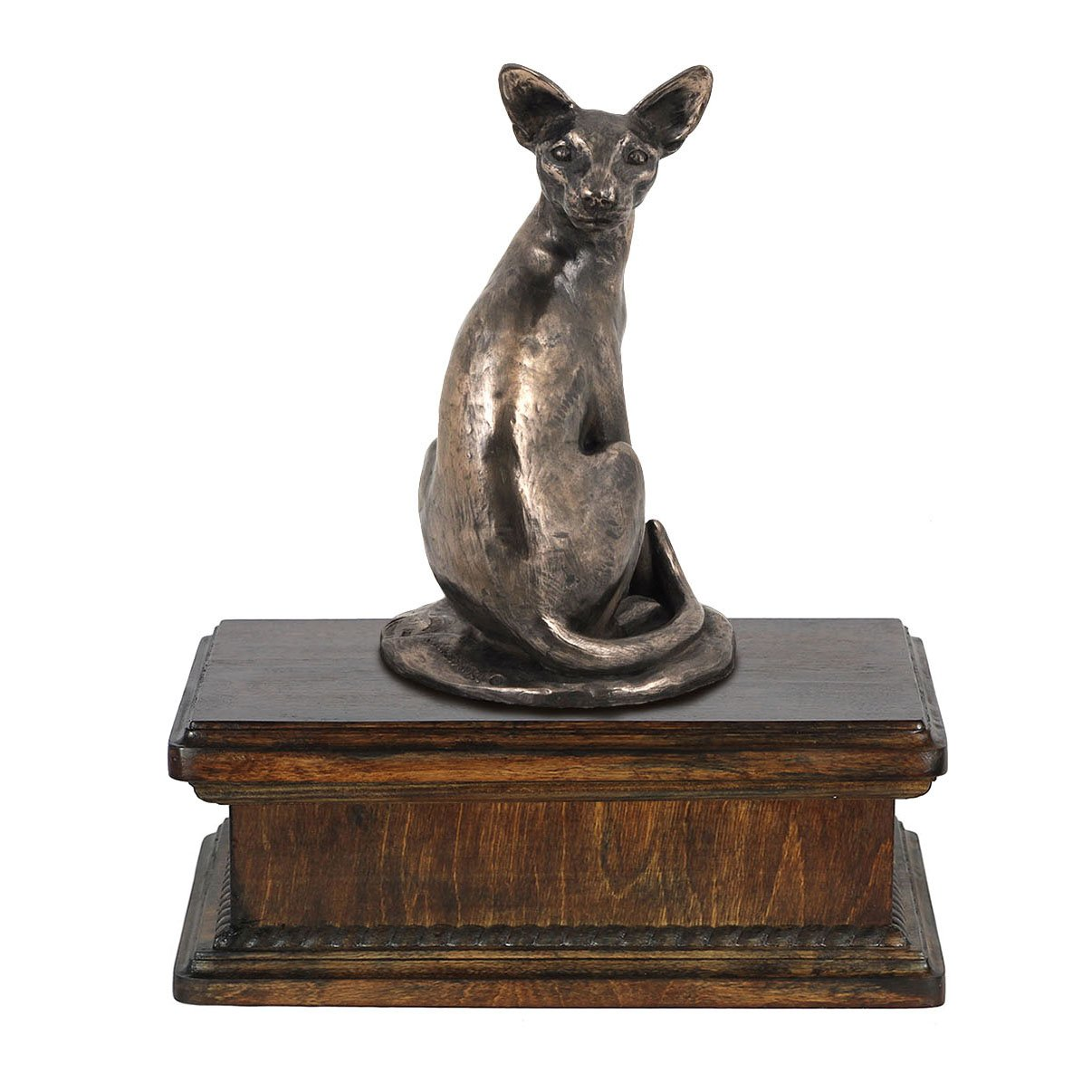 Egyptian Cat, memorial, urn for cat's ashes, with a cat statue, exclusive, ArtDog