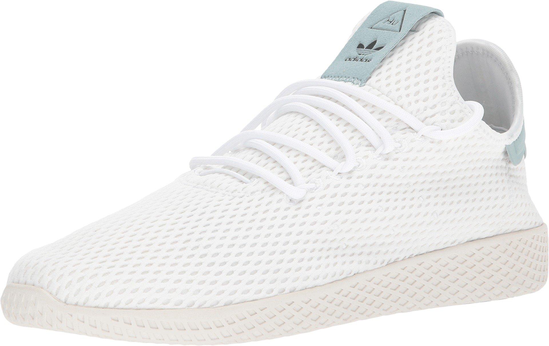 pretty nice 9f7fc 579b5 adidas Originals Men's Pharrell Williams Human Race White/White/Green 8 D US