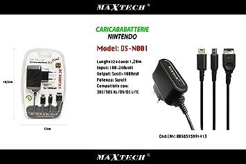 Cargador Compatible con Nintendo 3DSxl 3DS DSi DSiXL XL 2DS ...