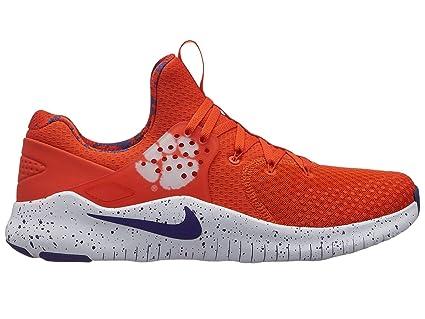f5d7900154ba Amazon.com  Nike Men s Free TR 8 Clemson Training Shoes (University ...