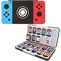 HEIYING Game Card Case for Nintendo Switch&Switch OLED&Switch Lite Game Card or Micro SD Memory Cards,Custom Pattern…