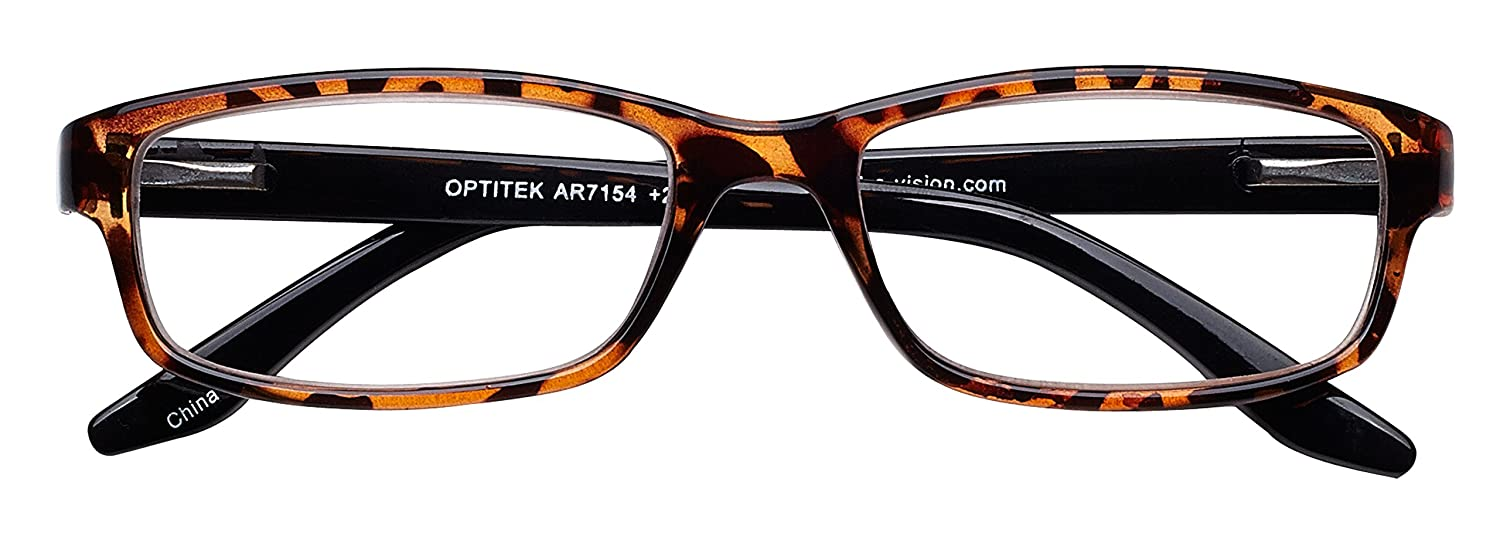 b90048063dd Amazon.com  Select-A-Vision Optitek Anti-Reflective Plastic Reading Glasses