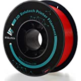 3D Solutech - PREPLARED Real Red 3D Printer Premium PLA Filament 1.75MM Filament, 2.2 LBS (1.0KG)