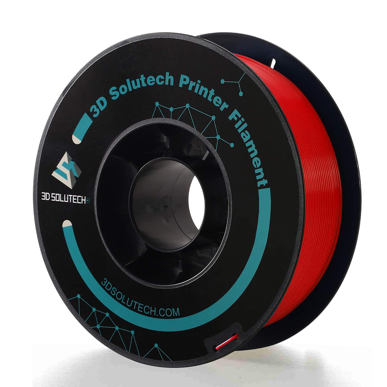 3D Solutech Impresora 3D real roja Filamento PLA Premium Filamento ...