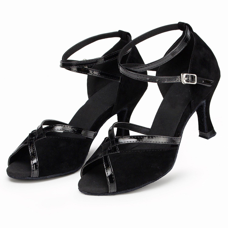 Minitoo , Damen Tanzschuhe - Standard & Latein , Schwarz - schwarz - Größe:  35: Amazon.de: Schuhe & Handtaschen