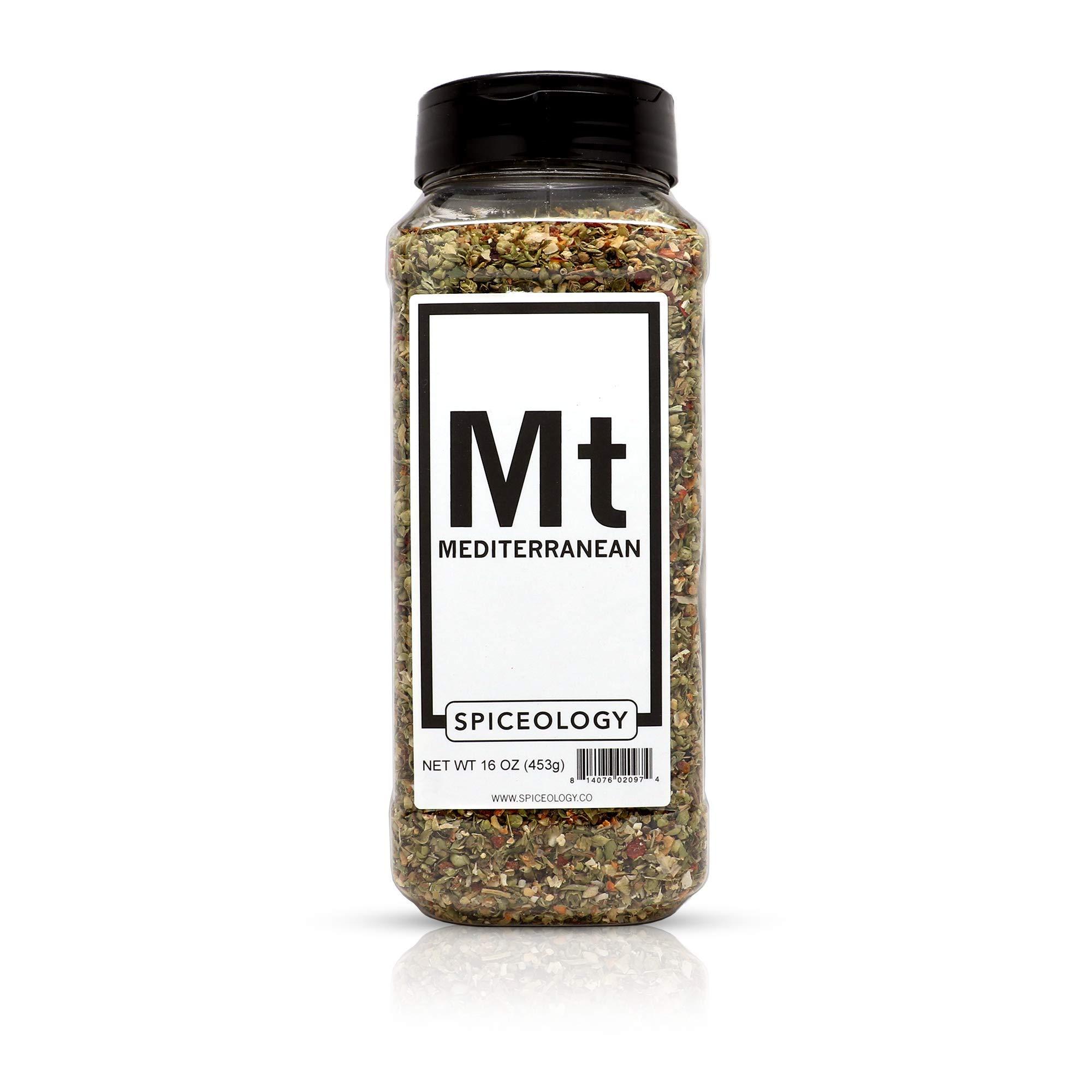 Mediterranean Spice Blend - Spiceology Greek Herb and Garlic Seasoning -16 ounces by Spiceology