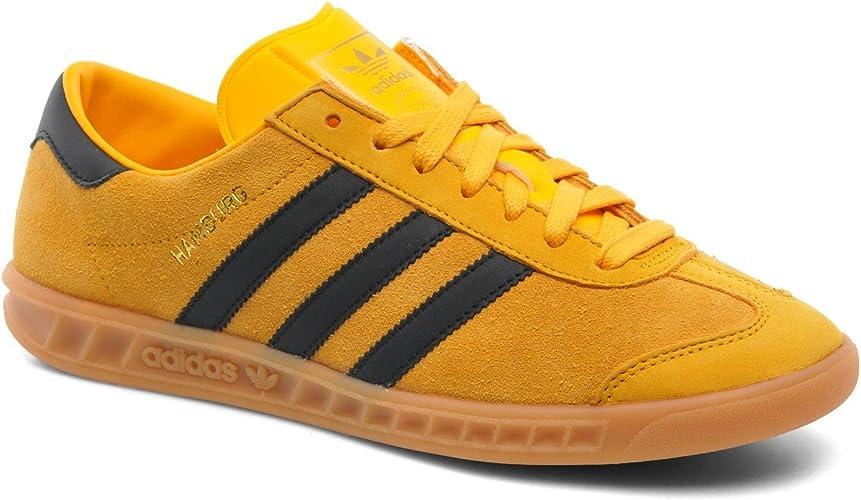 adidas Women's Hamburg Trainers Yellow Yellow Yellow Size: 8.5 UK ...