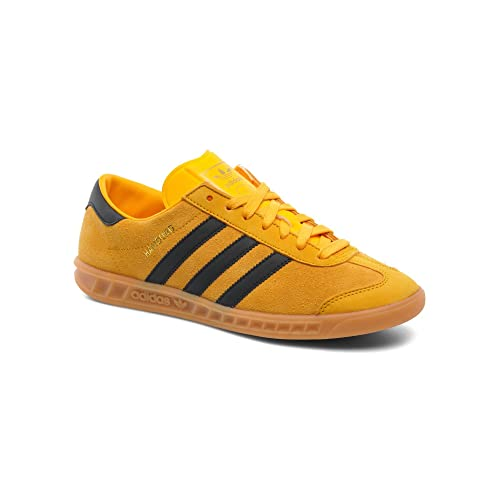 hot sales 5b0bb 40e30 adidas Hamburg - Zapatillas de Piel para Hombre Amarillo Amarillo, Color  Amarillo, Talla 48 2 3  Amazon.es  Zapatos y complementos