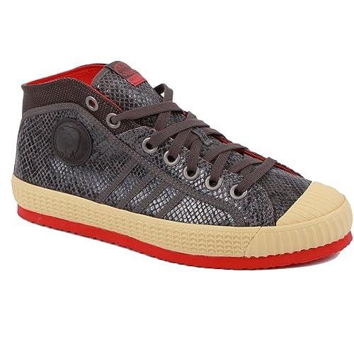 Diesel - Zapatillas Altas Hombre, Color Gris, Talla 41: Amazon.es: Zapatos y complementos