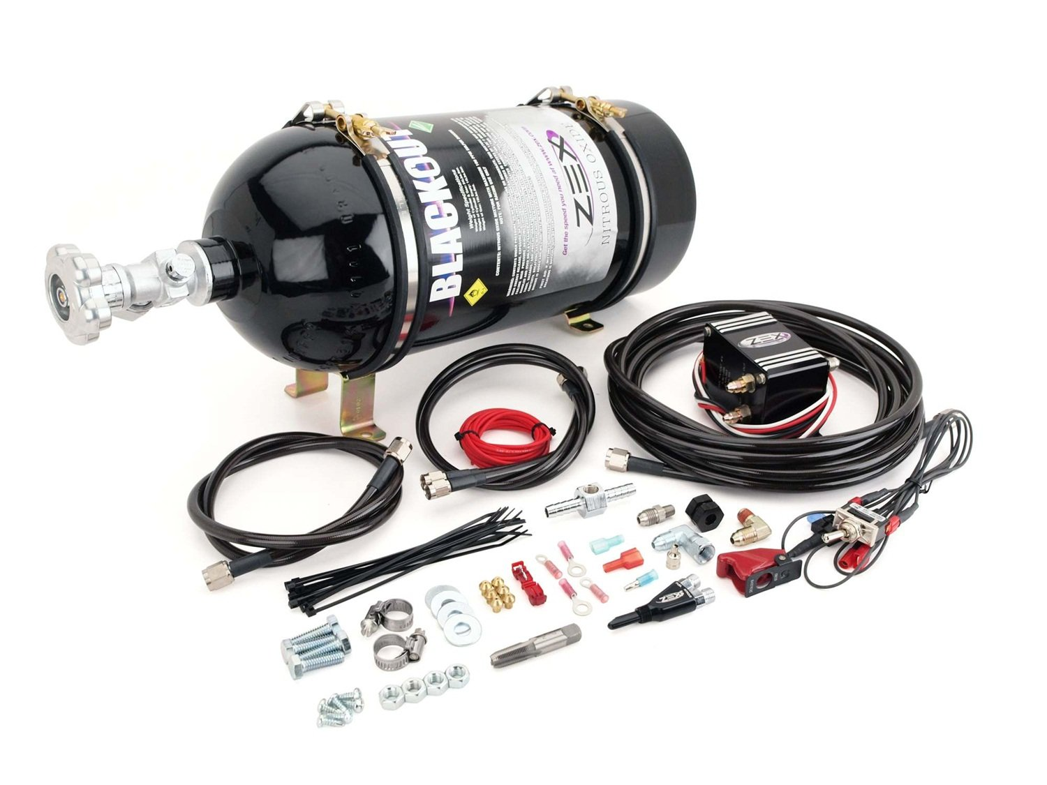 COMP Cams 82023B Nitrous System (Zex Wet 75-125 Hp''Black'')