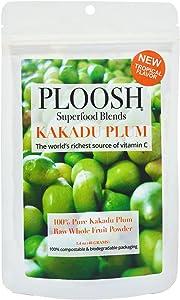 PLOOSH Immunity Boosting Blend Kakadu Plum with Mango - Mango Tropical Flavor (40g) - 100% Pure Premium Grade (A) Superfood Powder - Nature's Richest Source of Vitamin C, High in Antioxidants, 1.4 OZ