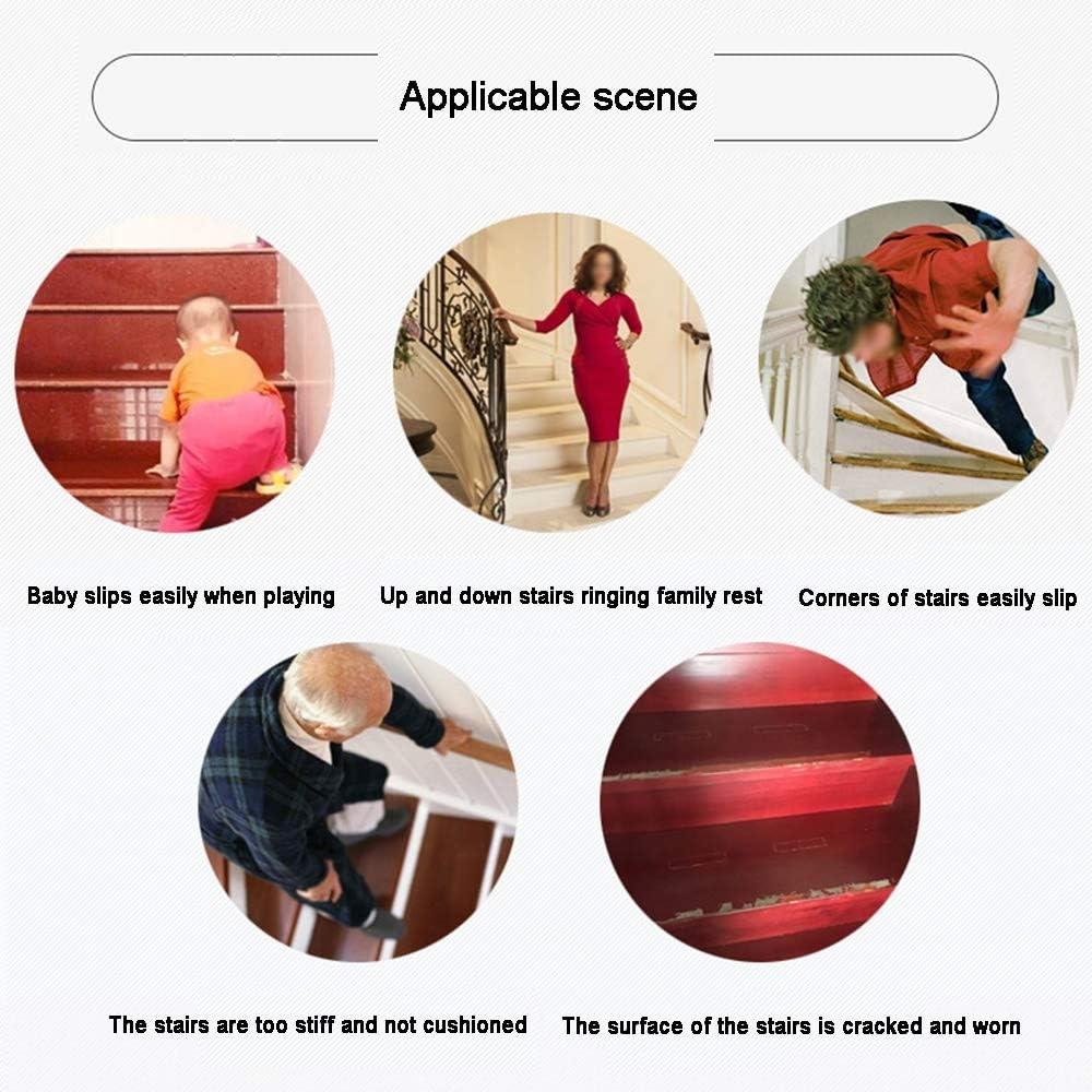 Size : 65 * 24cm Moquette XIAOXIAO Tapis Descalier-Non-adh/ésif Tapis Descalier Auto-adh/ésif Simple Pure Color Tapis Descalier Tapis Antid/érapant Rectangle Red Multi Size 1 Piece