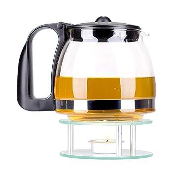 Kaliwaro Teekanne Aus Glas Mit Herausnehmbarem Teewärmer Und