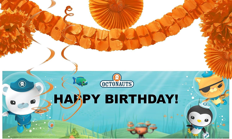 BirthdayExpress The Octonauts Party Supplies 8 Dessert Plates